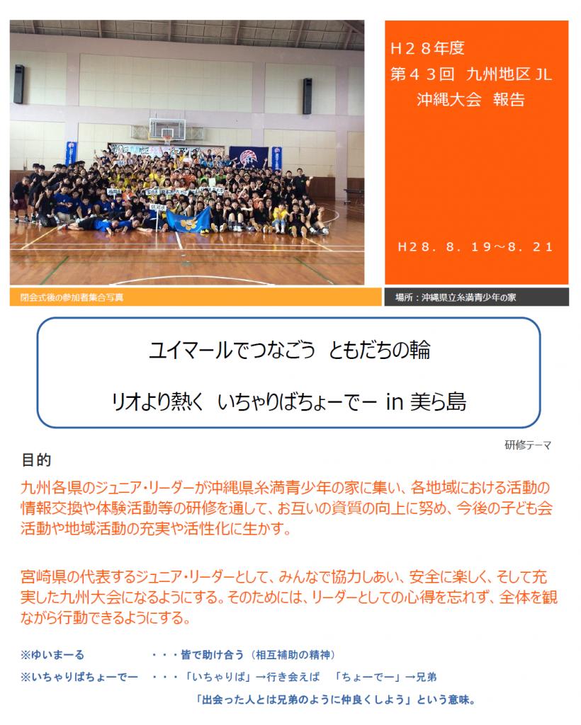沖縄大会報告