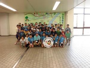 新倉敷駅で出発式