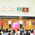 DSC_0795_会場一押しのニュースポーツ、キンボールを紹介